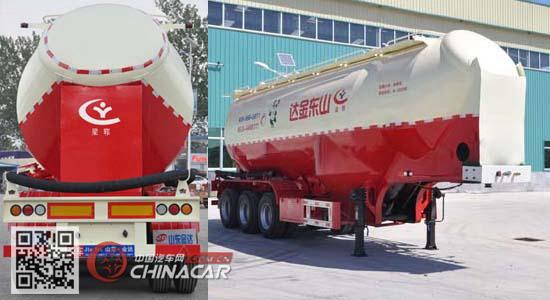 SLY9406GFL型梁郓牌中密度粉粒物料运输半挂车图片2