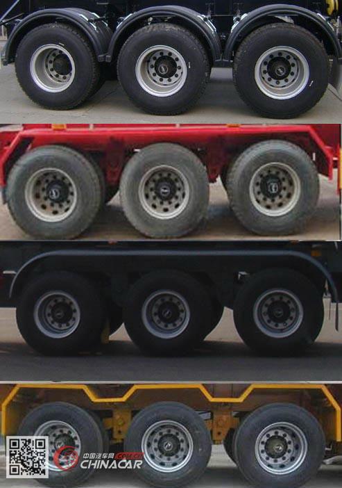 SDT9401GFL型运腾驰牌中密度粉粒物料运输半挂车图片2