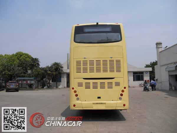 南车时代牌TEG6111EHEV01型混合动力双层城市客车图片3