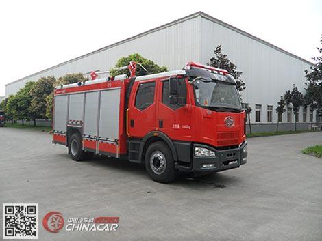 川消牌SXF5170GXFGF40型干粉消防车图片