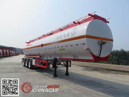 海福龙牌PC9401GYYE型铝合金运油半挂车图片1