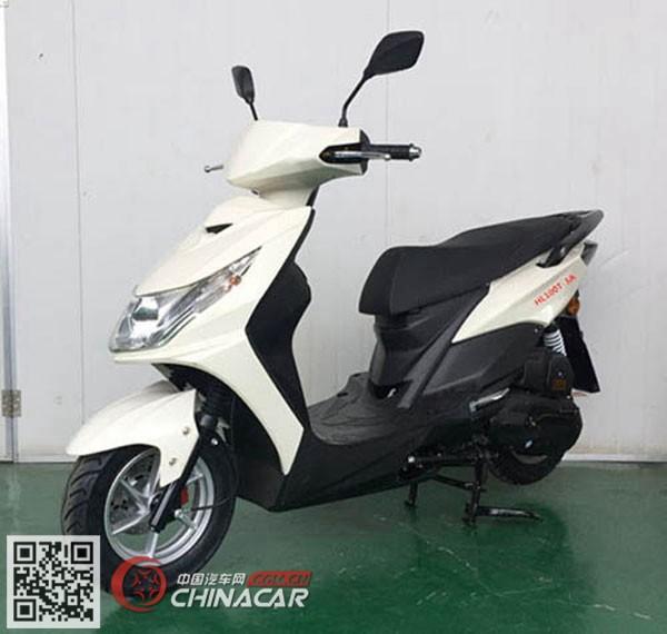 本菱牌HL100T-3A型两轮摩托车图片