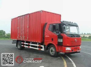 解放牌CA5160XXYP62K1L5A1E4型厢式运输车图片