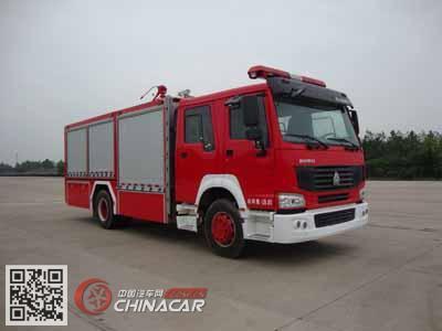光通牌MX5190TXFGF40/FCZ型干粉消防车图片1