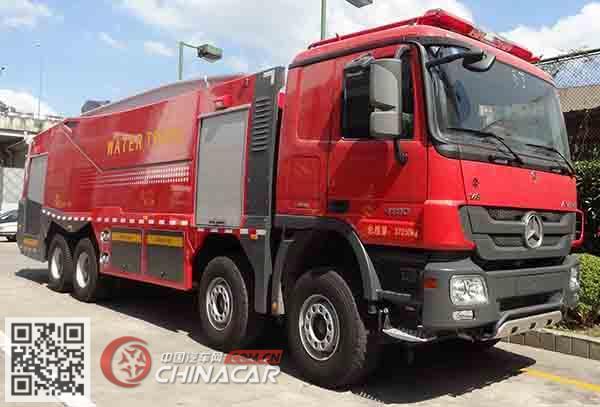 捷达消防牌SJD5371GXFSG180/B型水罐消防车图片1