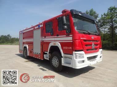 飞雁牌CX5200GXFPM80型泡沫消防车图片