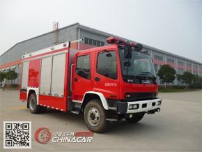 金盛盾牌JDX5150TXFGF30/W型干粉消防车图片1
