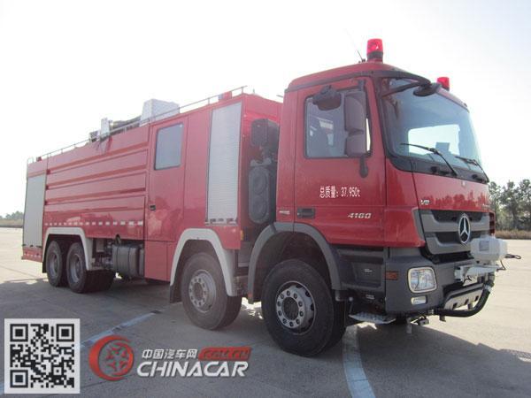 永强奥林宝牌RY5382GXFSG180/T型水罐消防车图片