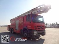 中卓时代牌ZXF5320JXFJP40型举高喷射消防车图片