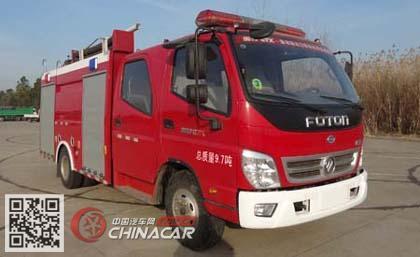 飞雁牌CX5100GXFSG30型水罐消防车图片