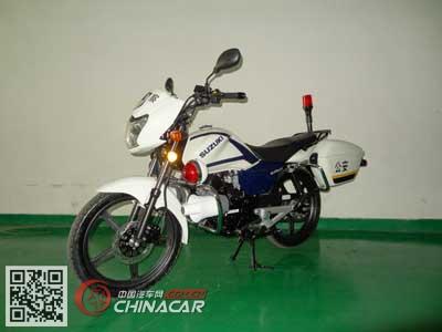 轻骑铃木牌QS125J-3型两轮摩托车图片