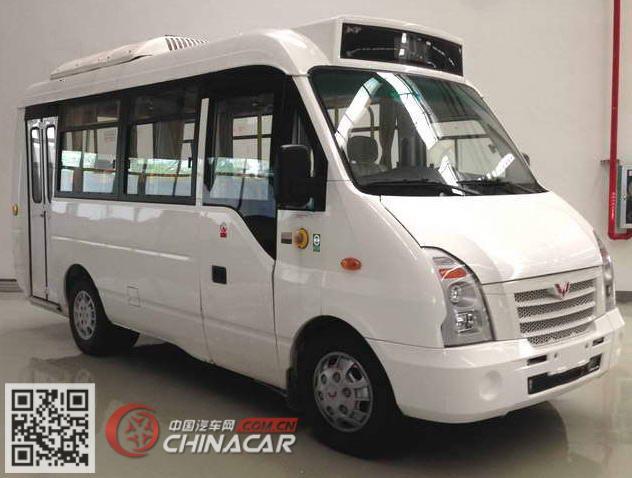 GL6602GQV型五菱牌城市客车图片1