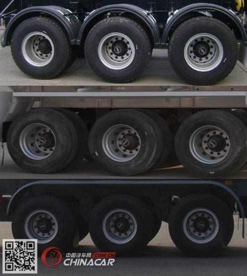 SLS9401GRYB型醒狮牌易燃液体罐式运输半挂车图片3