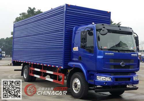 LZ5160XXYM3AB1型乘龙牌厢式运输车图片1