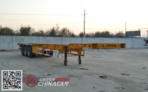 WMH9400TJZE型鸿宇达牌集装箱运输半挂车图片1