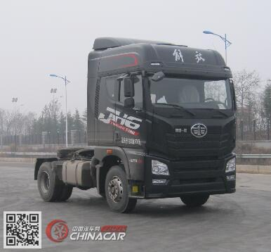 CA4180P26K15E5A80型解放牌平头柴油牵引车图片1
