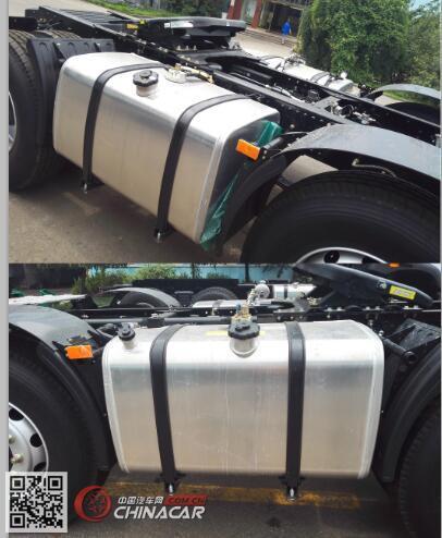 CA4180P26K15E5A80型解放牌平头柴油牵引车图片3