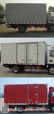 HFC2043XXYP92K1C2V-S型江淮牌越野厢式运输车图片4