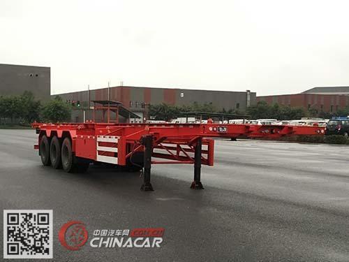 SQH9405TJZ型勤宏牌集装箱运输半挂车图片1