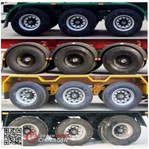 SQH9405TJZ型勤宏牌集装箱运输半挂车图片3