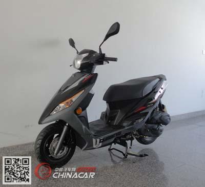 钱江qj110t-11m型两轮摩托车