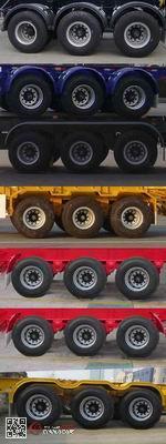 THT9406TJZB型通华牌集装箱运输半挂车图片3