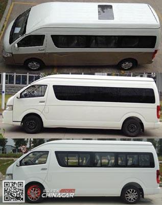 XMQ6600AEG4D型金龙牌轻型客车图片3