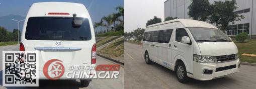 XMQ6600AEG4D型金龙牌轻型客车图片4