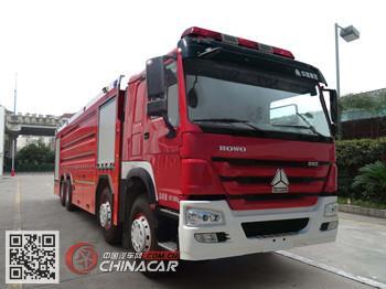 银河牌BX5420GXFSG250/HW4型水罐消防车图片1