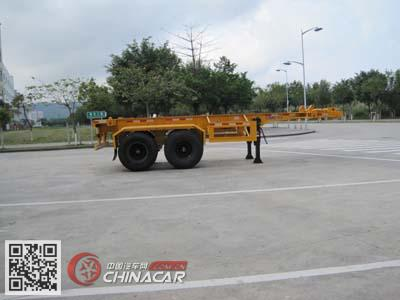 ZJV9350TJZSZ型中集牌集装箱运输半挂车图片2