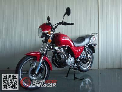 凌肯牌LK125-5M型两轮摩托车图片