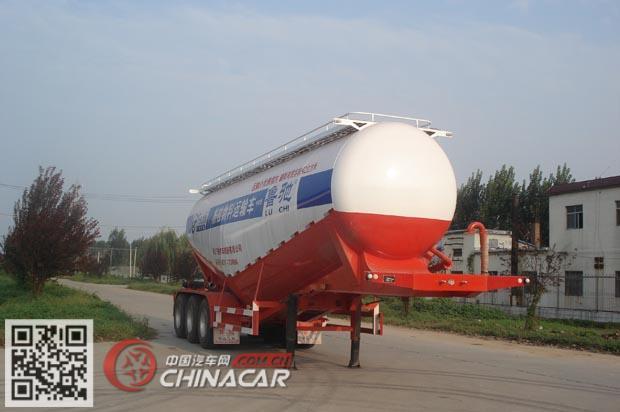 LC9401GFL型鲁驰牌中密度粉粒物料运输半挂车图片1