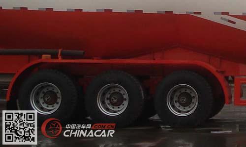 LC9401GFL型鲁驰牌中密度粉粒物料运输半挂车图片3