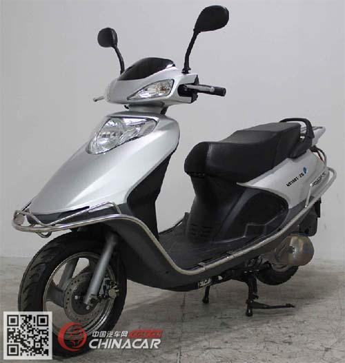豪达hd100t-2g型两轮摩托车