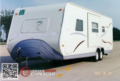 TC9030XLJ型中天之星牌旅居挂车图片2