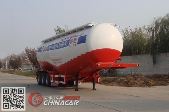 LC9404GFL型鲁驰牌低密度粉粒物料运输半挂车图片1