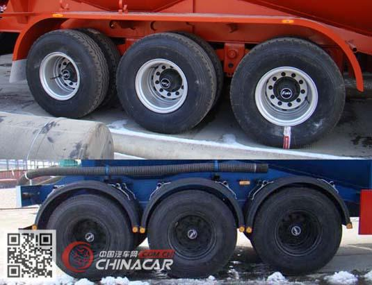 SKW9403GFLA型盛润牌中密度粉粒物料运输半挂车图片4