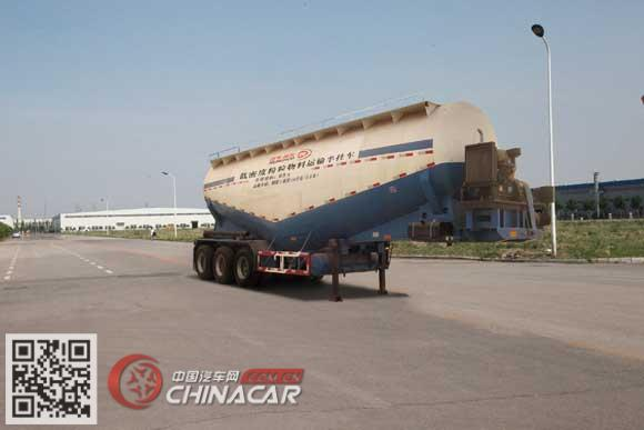 WSH9401GFL型东润牌低密度粉粒物料运输半挂车图片1