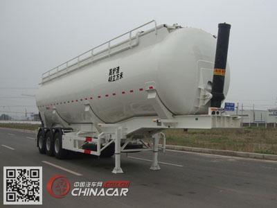 CLY9405GFLC型凌宇牌铝合金中密度粉粒物料运输半挂车图片1