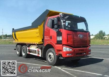 CA3250P66L0T1E24M5型解放牌平头天然气自卸汽车图片4