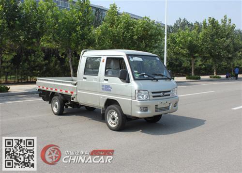 BJ1030V4AV4-V1型福田牌两用燃料载货汽车图片1
