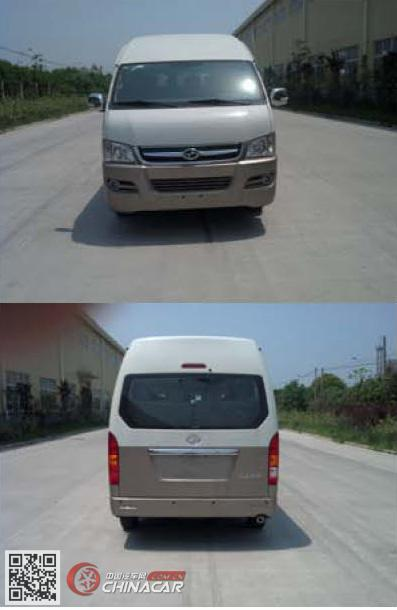 HKL6600CE型大马牌轻型客车图片3