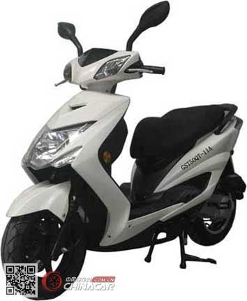 GST50QT-11A型古思特牌两轮轻便摩托车图片1