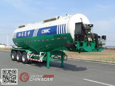 CLY9406GFL型凌宇牌低密度粉粒物料运输半挂车图片3