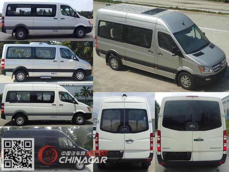 金龙牌XMQ6593KED5型轻型客车图片2