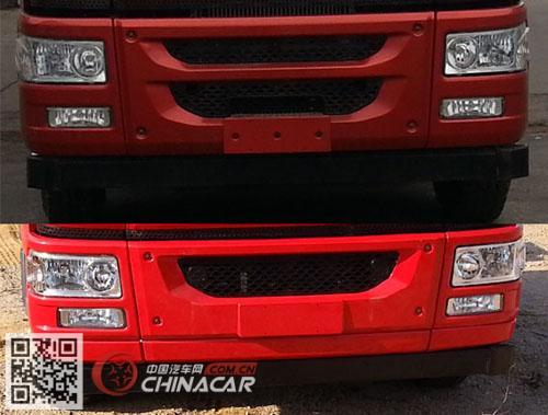 CA3310P1K2L4T4E5A80型解放牌平头柴油自卸汽车图片4