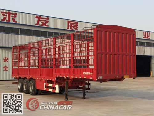 YYX9400CCYE型广恩牌仓栅式运输半挂车图片1