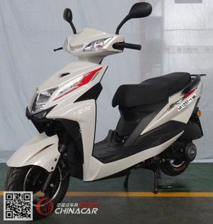 HY125T-136型豪逸牌两轮摩托车图片1