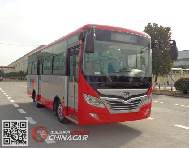 华新牌HM6735CFD5X型城市客车图片1