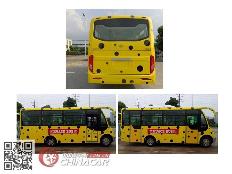 华新牌HM6601CFD5X型城市客车图片2